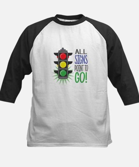 Point To Go Baseball Jersey