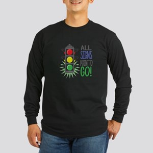 Point To Go Long Sleeve T-Shirt