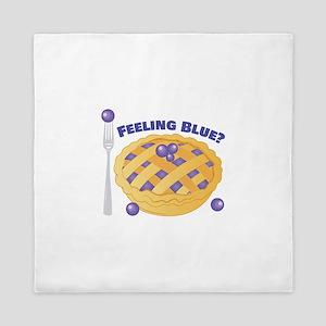 Feeling Blue Queen Duvet