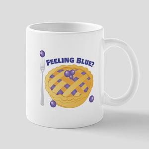 Feeling Blue Mugs