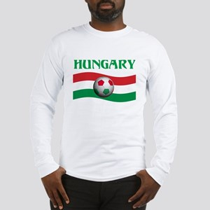 TEAM HUNGARY WORLD CUP Long Sleeve T-Shirt