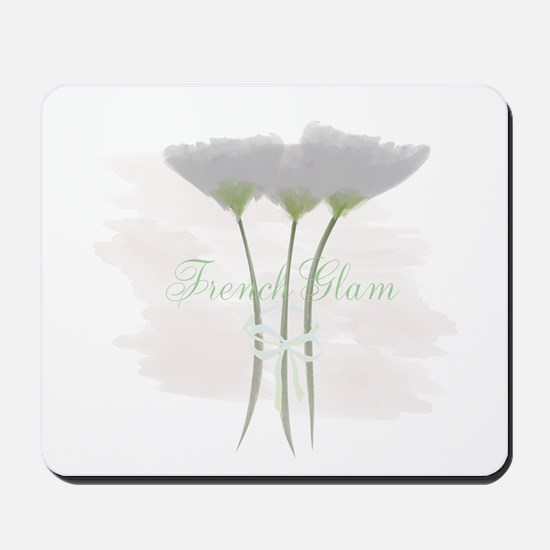 French Glam Watercolor Mousepad