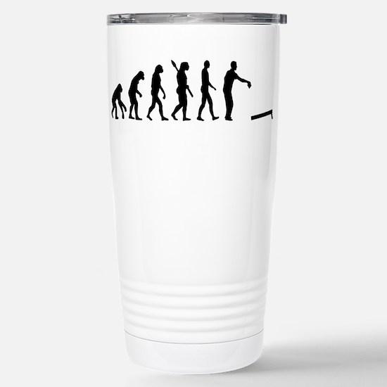 Evolution Cornhole Stainless Steel Travel Mug