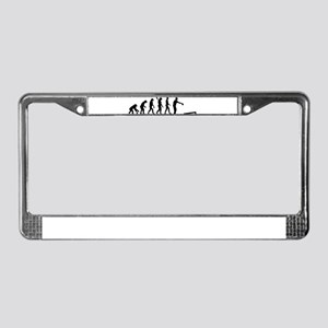 Evolution Cornhole License Plate Frame