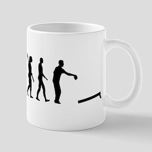 Evolution Cornhole Mug