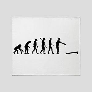 Evolution Cornhole Throw Blanket