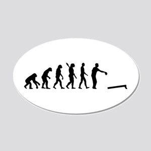 Evolution Cornhole 20x12 Oval Wall Decal