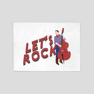 Let's Rock 5'x7'Area Rug