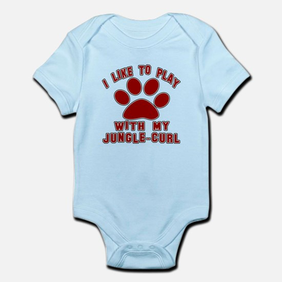 I Like Play With My Jungle-curl Ca Infant Bodysuit