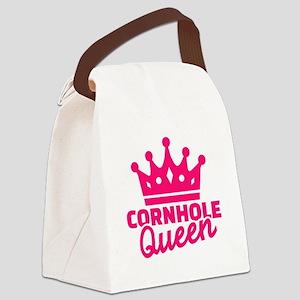 Cornhole queen Canvas Lunch Bag