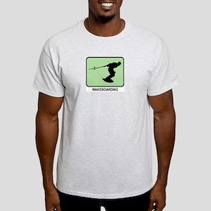Wakeboarding (GREEN) Light T-Shirt