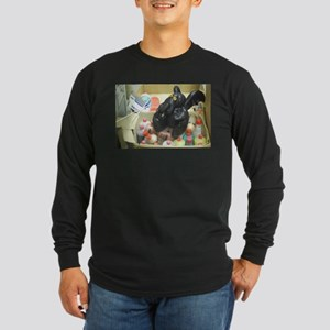 Cthulu goes to artschool Long Sleeve T-Shirt