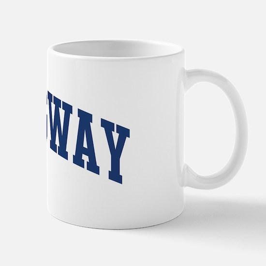 HEMINGWAY design (blue) Mug