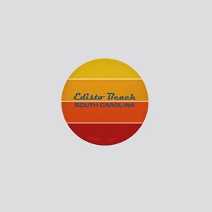 South Carolina - Edisto Beach Mini Button