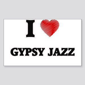 I Love Gypsy Jazz Sticker
