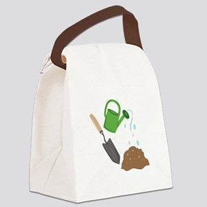 Garden Tools Canvas Lunch Bag