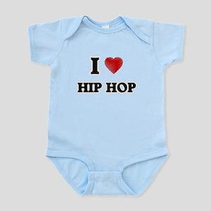 I Love Hip Hop Body Suit