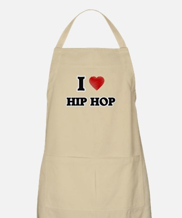 I Love Hip Hop Apron
