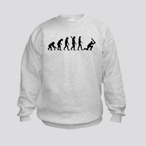 Evolution Cricket Kids Sweatshirt