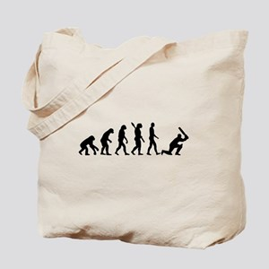 Evolution Cricket Tote Bag
