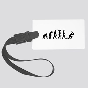 Evolution Cricket Large Luggage Tag