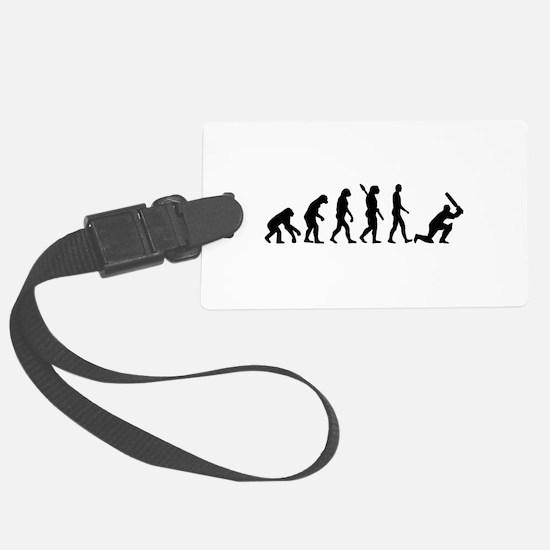 Evolution Cricket Luggage Tag