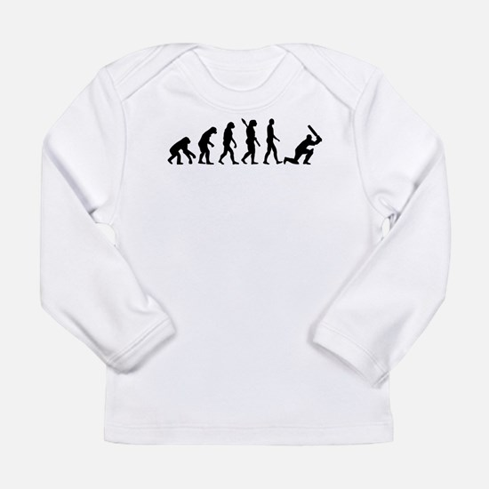 Evolution Cricket Long Sleeve Infant T-Shirt