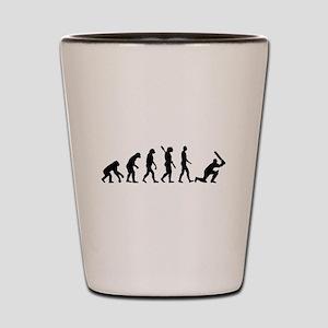 Evolution Cricket Shot Glass