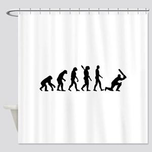 Evolution Cricket Shower Curtain