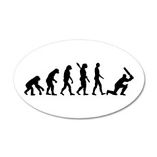 Evolution Cricket Wall Decal