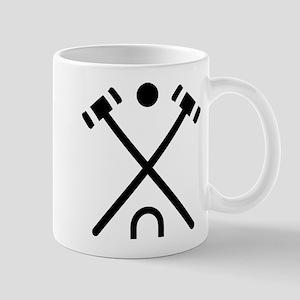 Crossed croquet bats Mug