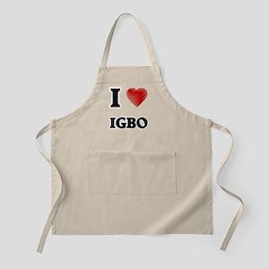 I Love Igbo Apron