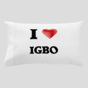 I Love Igbo Pillow Case