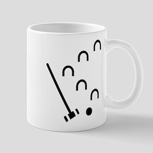 Croquet game Mug
