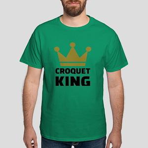Croquet king champion Dark T-Shirt