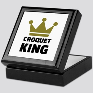 Croquet king champion Keepsake Box
