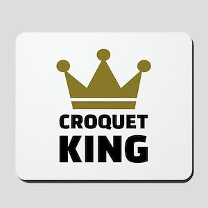 Croquet king champion Mousepad