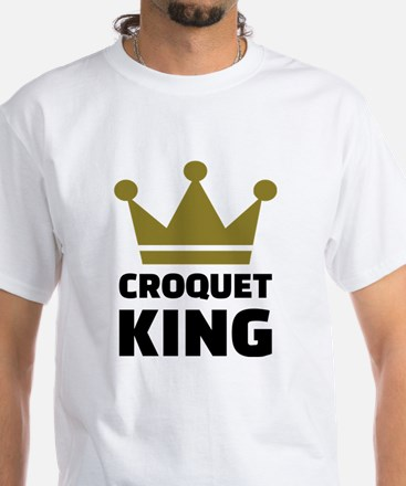 Croquet king champion White T-Shirt