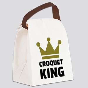 Croquet king champion Canvas Lunch Bag