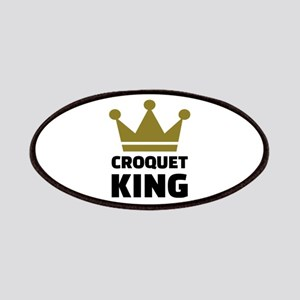 Croquet king champion Patch