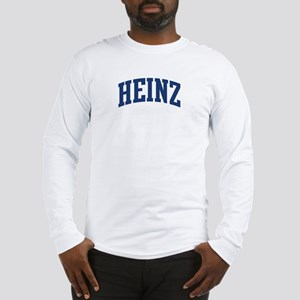 HEINZ design (blue) Long Sleeve T-Shirt