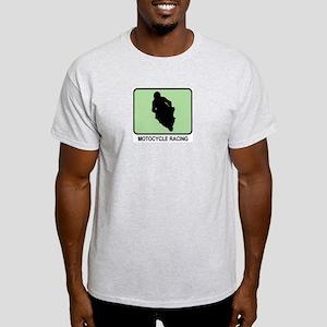 Motocycle Racing (GREEN) Light T-Shirt