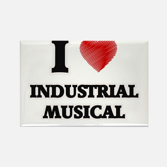 I Love Industrial Musical Magnets