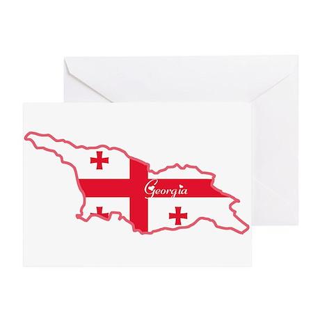 Cool Georgia Greeting Card