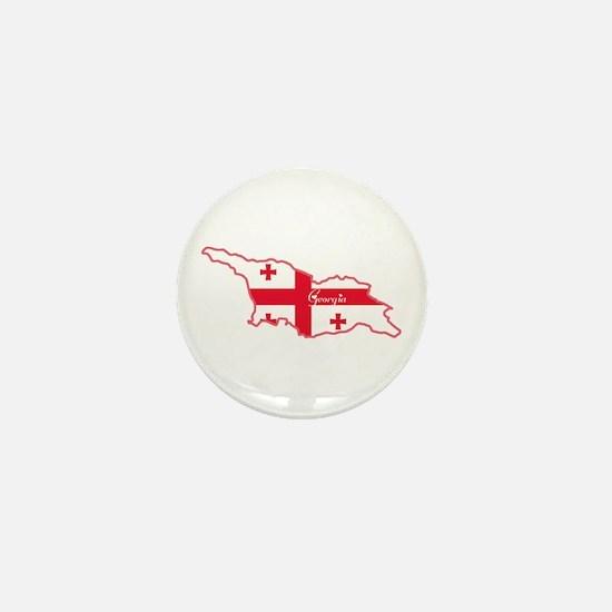 Cool Georgia Mini Button