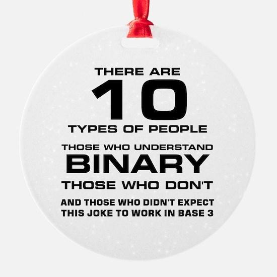 Funny Math geek Ornament