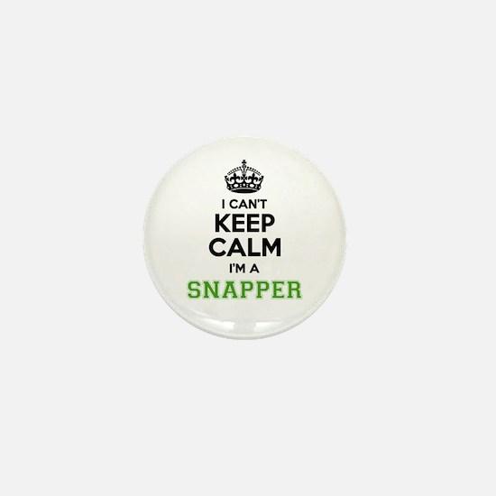 Snapper I cant keeep calm Mini Button