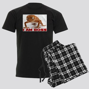 I Am Boss Men's Dark Pajamas