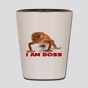 I Am Boss Shot Glass