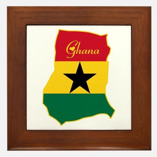 Cool Ghana Framed Tile